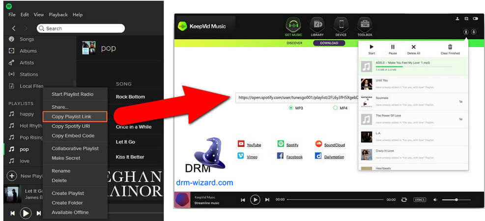 Discover 2019 Best Spotify Downloaders (100% Working) - DRM
