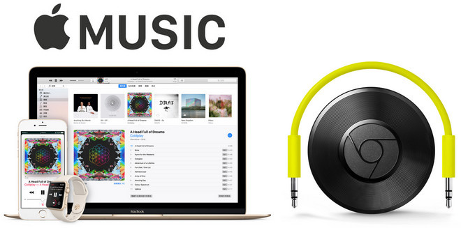 Workaround to Play Apple Music on Chromecast Audio in 4 Steps - DRM