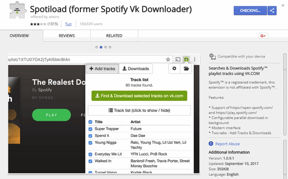 Is Spotify VK Downloader a Reliable Online Spotify to MP3