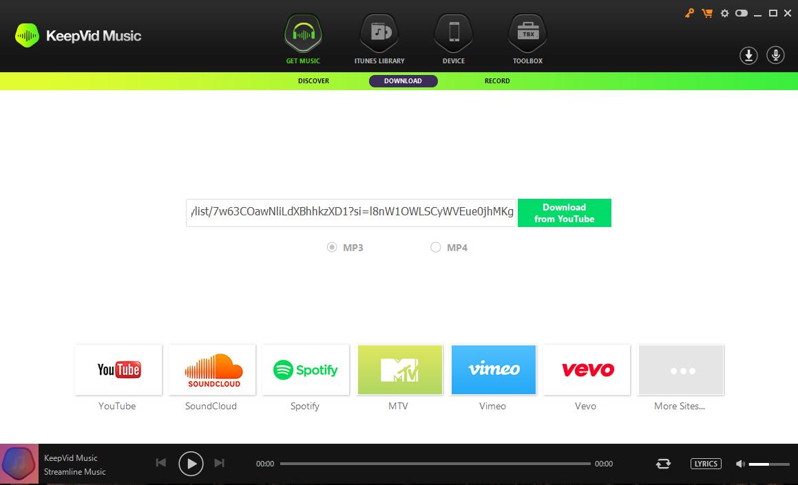 2018 Spotify Converters Comparison: Sidify VS Tuneskit VS KeepVid